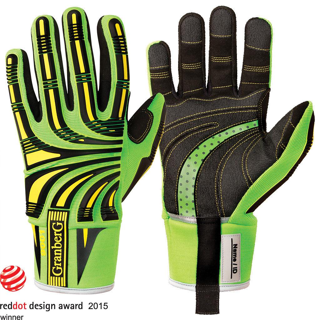 9001 impact gloves