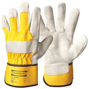 work gloves yellow