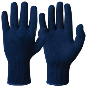 knitted winter gloves