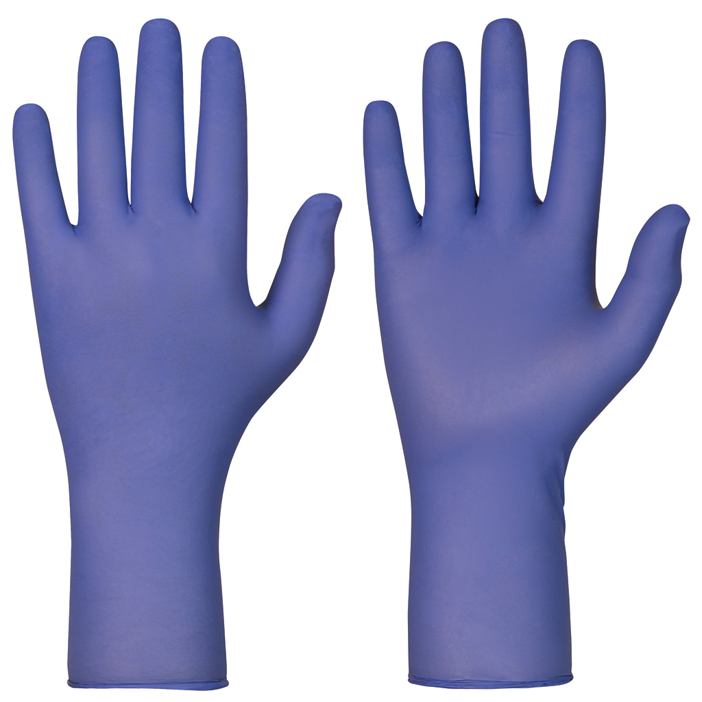 single use indigo gloves