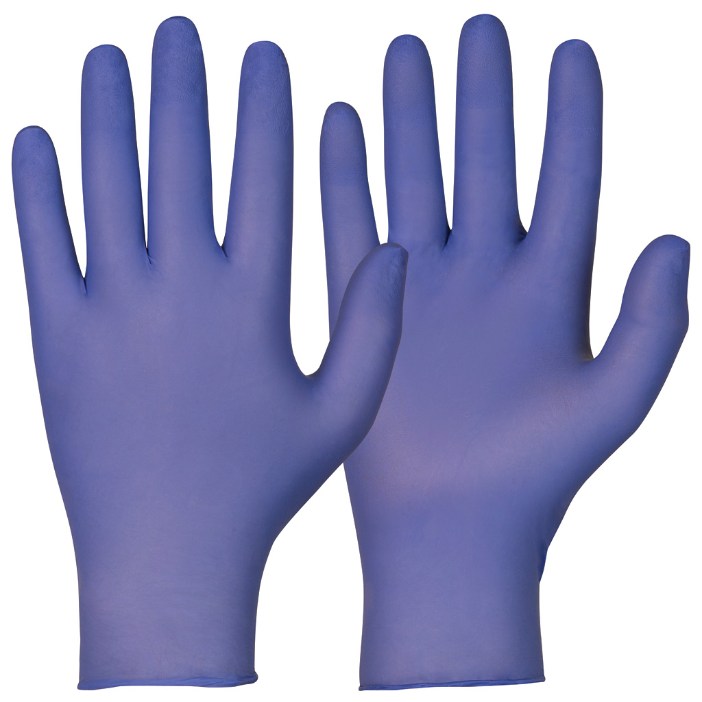 single use gloves indigo
