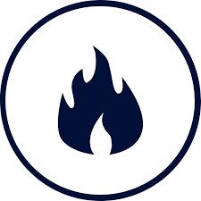 flame retardant icon