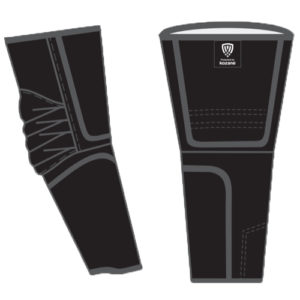 black arm guards