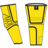 yellow arm guards