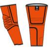 orange arm guards