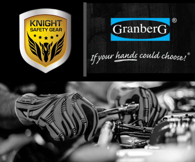 Knight Safety Gear and Granberg logos