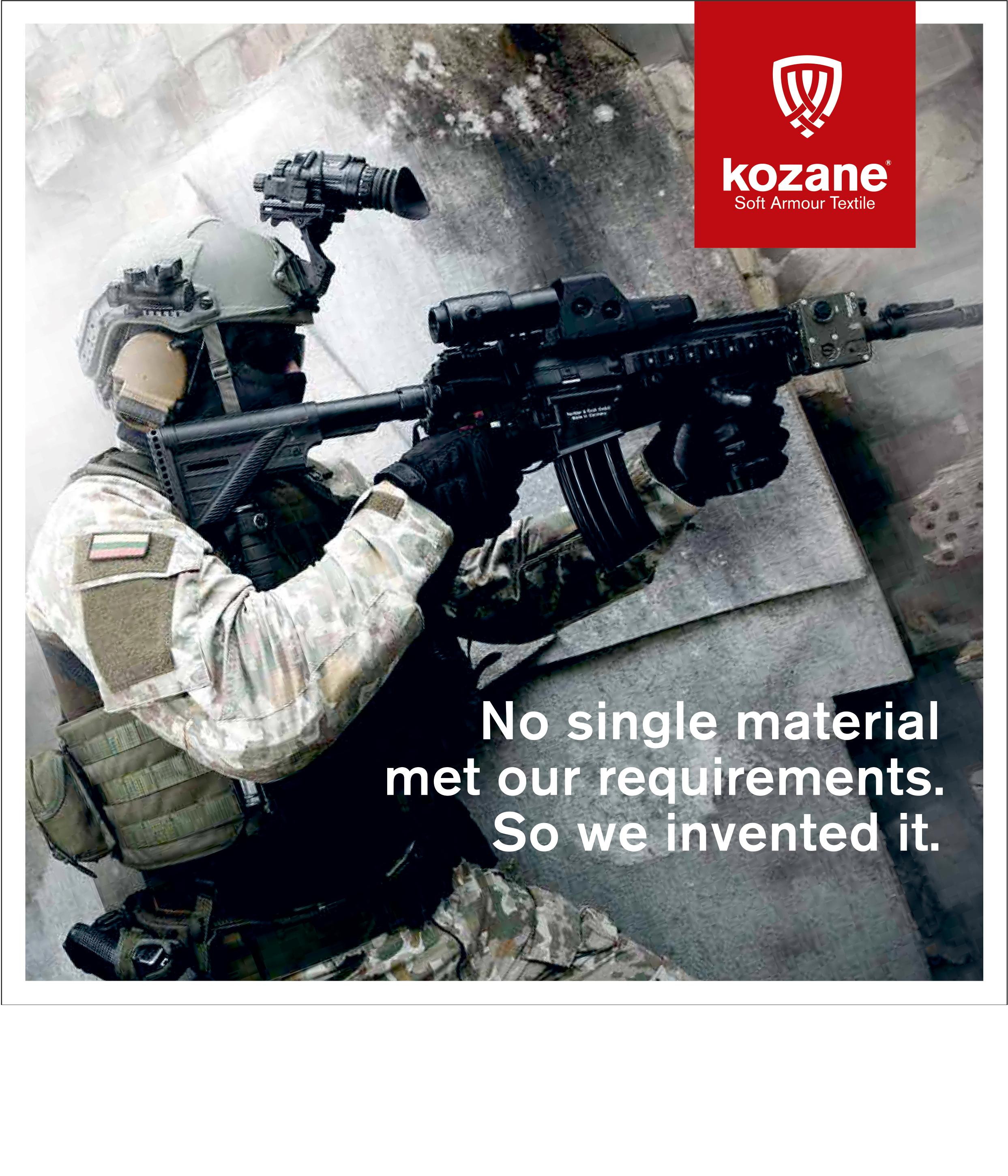 Kozane catalogue cover