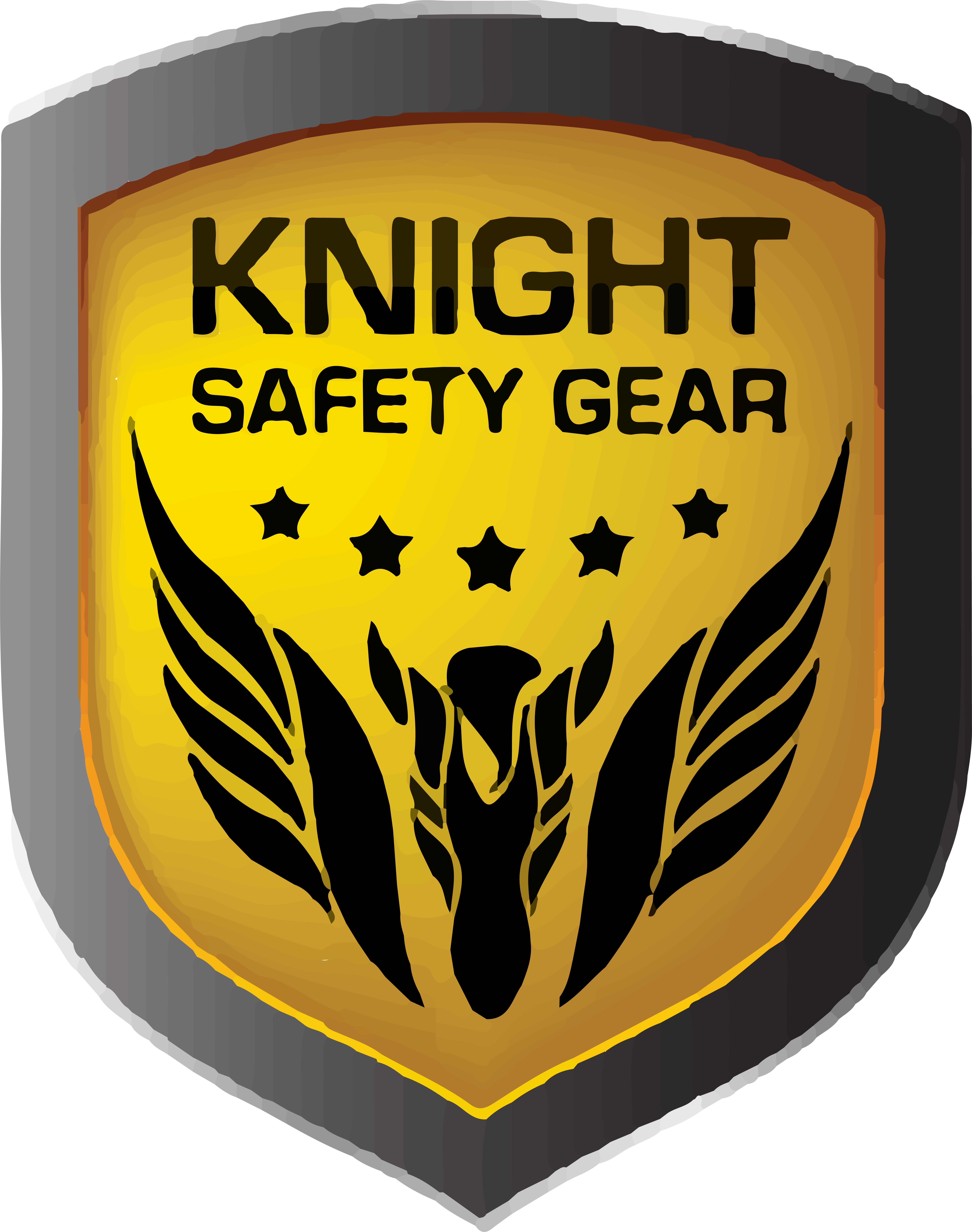 knight safety gear logo with no background