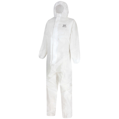 bmc-02 white type 5/6 disposable coverall