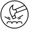 Granberg impact gloves symbol