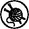 Granberg knitted gloves symbol
