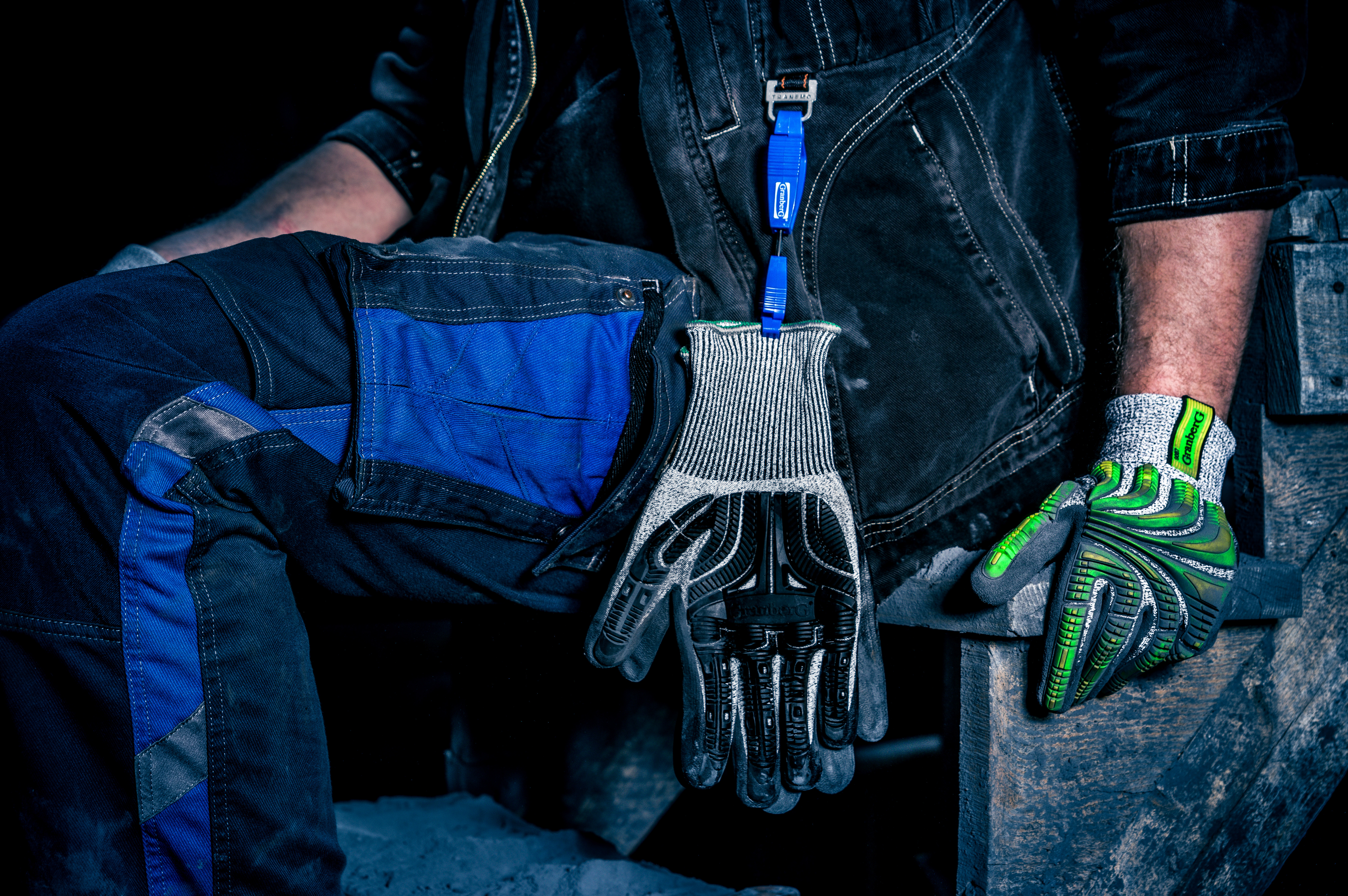 Granberg impact gloves on clip 9007