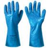 Nitrile chemical resistant gloves