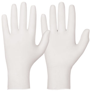 white single use glove