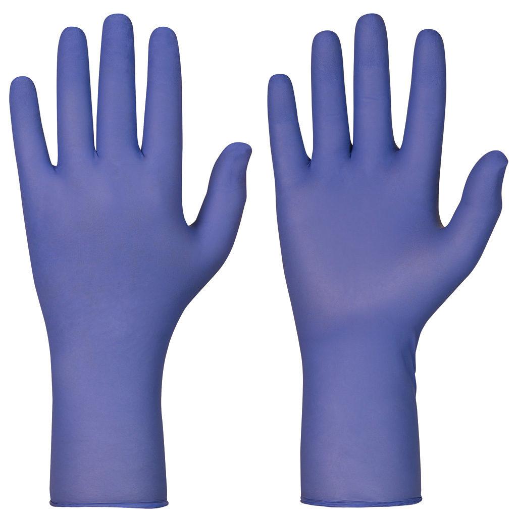 single use indigo gloves