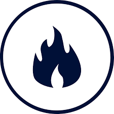flame retardant icon