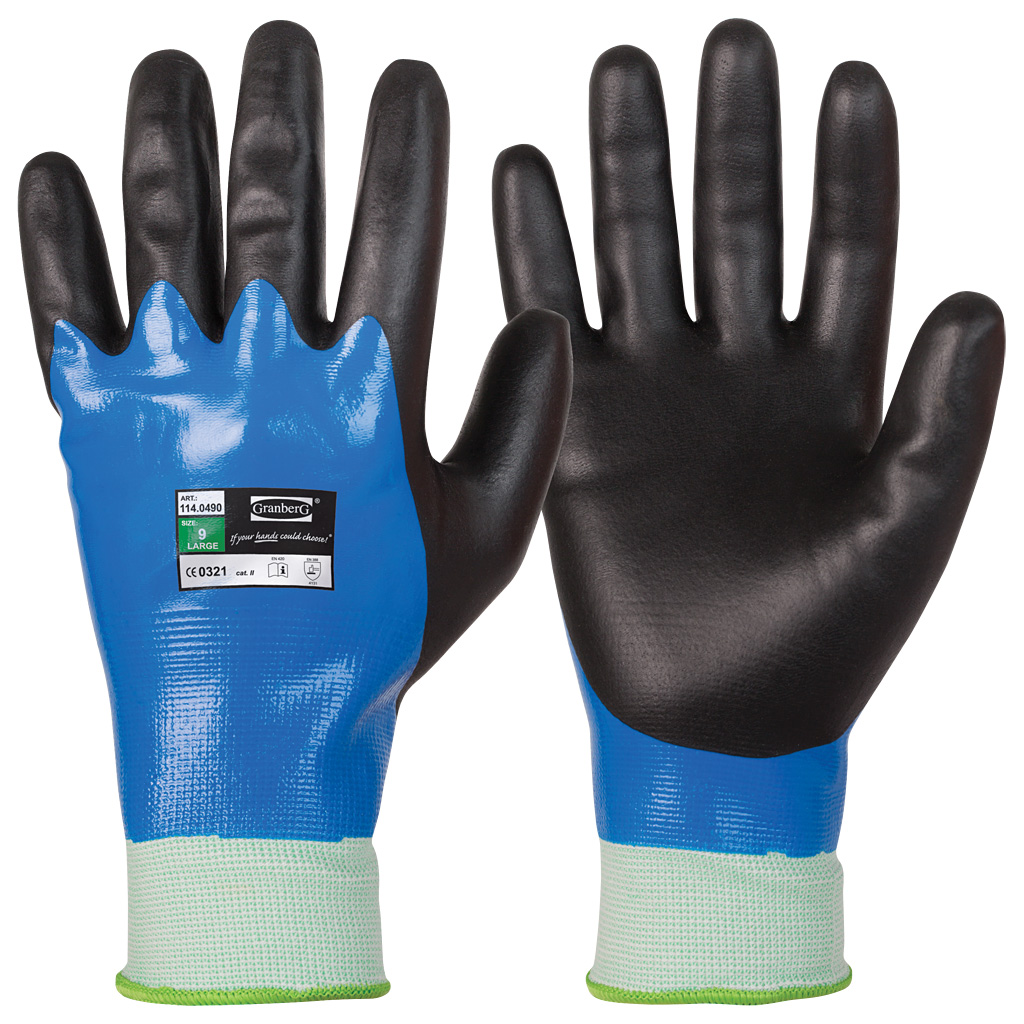 liquid proof assembly gloves