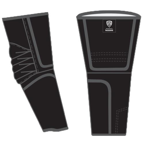 black arm guards