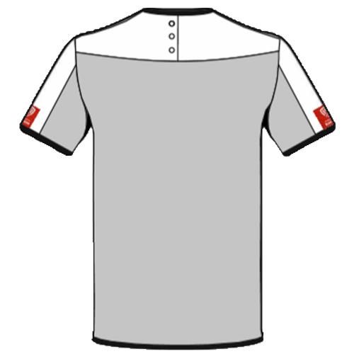 back of slash resistant t-shirt