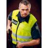 man with slash resistant vest