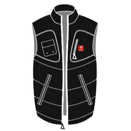bomber jacket vest