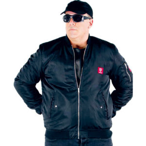 slash resistant bomber jacket