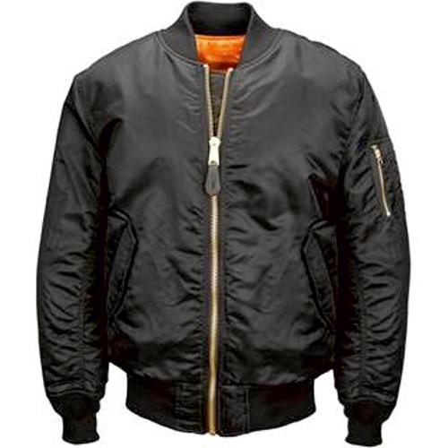 bomber jacket with zip