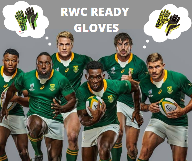 Impact gloves and rugby players