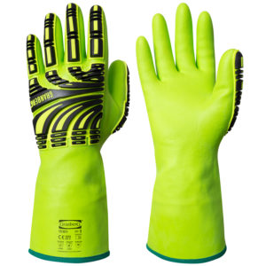 granberg chemical resistant impact gloves. New version